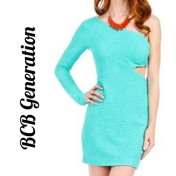 BCBGeneration Dresses & Skirts - NWT Mint Bodycon Ruched Dress